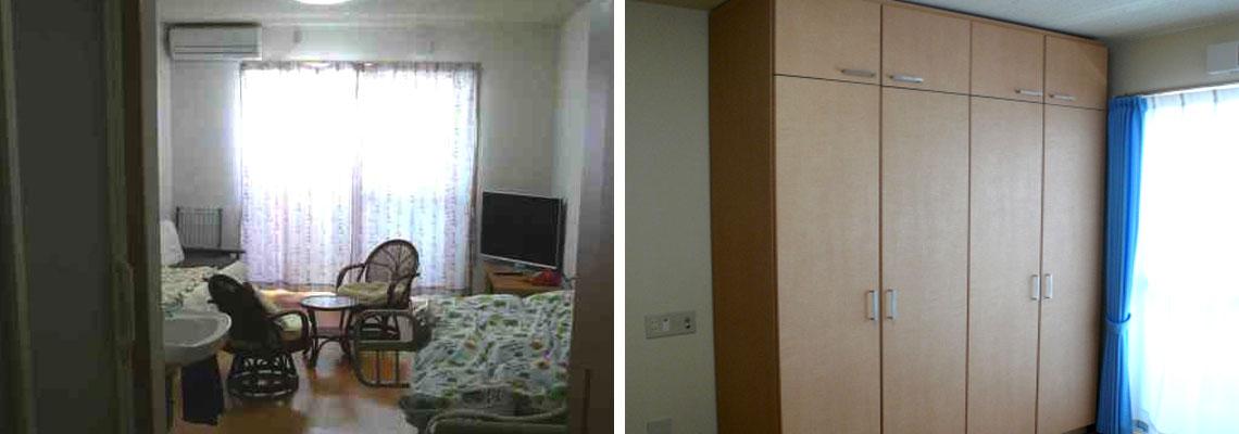 よろこぼう屋マンション 居室 収納
